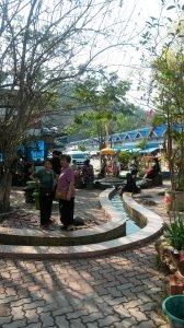 Hot spring..