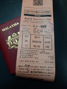 Flight ticket Incheon-Jeju
